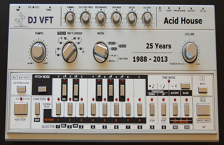 Fine balance recordings for Acid house mix